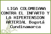 LIGA COLOMBIANA CONTRA EL INFARTO Y LA HIPERTENSION ARTERIAL Bogotá Cundinamarca
