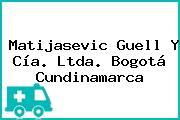 Matijasevic Guell Y Cía. Ltda. Bogotá Cundinamarca