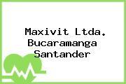 Maxivit Ltda. Bucaramanga Santander