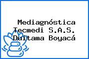 Mediagnóstica Tecmedi S.A.S. Duitama Boyacá