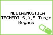 MEDIAGNÓSTICA TECMEDI S.A.S Tunja Boyacá