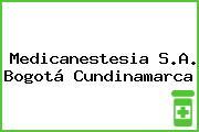 Medicanestesia S.A. Bogotá Cundinamarca
