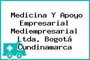 Medicina Y Apoyo Empresarial Mediempresarial Ltda. Bogotá Cundinamarca