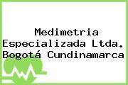 Medimetria Especializada Ltda. Bogotá Cundinamarca