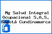 Mg Salud Integral Ocupacional S.A.S. Bogotá Cundinamarca
