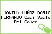 MONTUA MUÑOZ DARIO FERNANDO Cali Valle Del Cauca