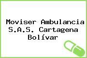 Moviser Ambulancia S.A.S. Cartagena Bolívar