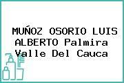 MUÑOZ OSORIO LUIS ALBERTO Palmira Valle Del Cauca