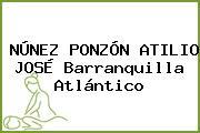 NÚNEZ PONZÓN ATILIO JOSÉ Barranquilla Atlántico