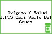 Oxígeno Y Salud I.P.S Cali Valle Del Cauca