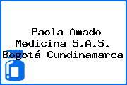 Paola Amado Medicina S.A.S. Bogotá Cundinamarca