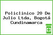 Policlinico 20 De Julio Ltda. Bogotá Cundinamarca