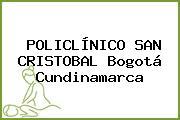 POLICLÍNICO SAN CRISTOBAL Bogotá Cundinamarca