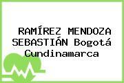 RAMÍREZ MENDOZA SEBASTIÁN Bogotá Cundinamarca