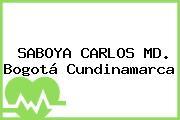 SABOYA CARLOS MD. Bogotá Cundinamarca
