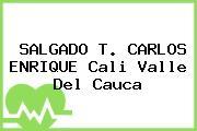 SALGADO T. CARLOS ENRIQUE Cali Valle Del Cauca