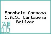 Sanabria Carmona. S.A.S. Cartagena Bolívar