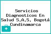Servicios Diagnosticos En Salud S.A.S. Bogotá Cundinamarca