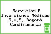 Servicios E Inversiones Médicas S.A.S. Bogotá Cundinamarca