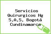 Servicios Quirurgicos Hg S.A.S. Bogotá Cundinamarca