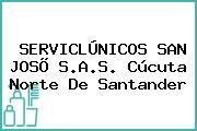 SERVICLÚNICOS SAN JOSÕ S.A.S. Cúcuta Norte De Santander