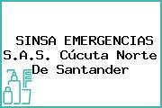 SINSA EMERGENCIAS S.A.S. Cúcuta Norte De Santander