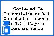 Sociedad De Intensivistas Del Occidente Intenoc S.A.S. Bogotá Cundinamarca