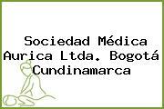 Sociedad Médica Aurica Ltda. Bogotá Cundinamarca