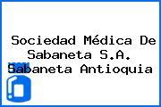 Sociedad Médica De Sabaneta S.A. Sabaneta Antioquia