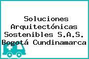 Soluciones Arquitectónicas Sostenibles S.A.S. Bogotá Cundinamarca