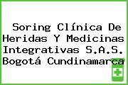 Soring Clínica De Heridas Y Medicinas Integrativas S.A.S. Bogotá Cundinamarca