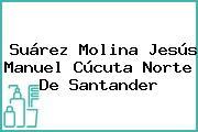 Suárez Molina Jesús Manuel Cúcuta Norte De Santander