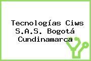 Tecnologías Ciws S.A.S. Bogotá Cundinamarca