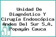 Unidad De Diagnóstico Y Cirugía Endoscópica Andes Del Sur S.A. Popayán Cauca