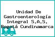 Unidad De Gastroenterología Integral S.A.S. Bogotá Cundinamarca