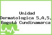 Unidad Dermatologica S.A.S. Bogotá Cundinamarca