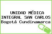 UNIDAD MÉDICA INTEGRAL SAN CARLOS Bogotá Cundinamarca