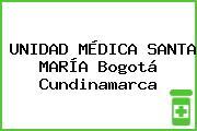 UNIDAD MÉDICA SANTA MARÍA Bogotá Cundinamarca