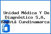 Unidad Médica Y De Diagnóstico S.A. Bogotá Cundinamarca