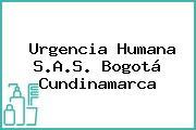 Urgencia Humana S.A.S. Bogotá Cundinamarca