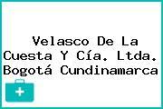 Velasco De La Cuesta Y Cía. Ltda. Bogotá Cundinamarca