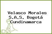 Velasco Morales S.A.S. Bogotá Cundinamarca