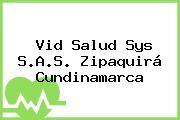 Vid Salud Sys S.A.S. Zipaquirá Cundinamarca