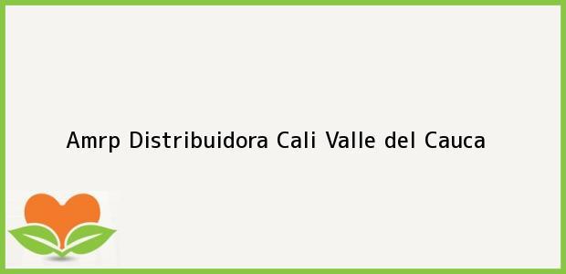 Teléfono, Dirección y otros datos de contacto para Amrp Distribuidora, Cali, Valle del Cauca, Colombia