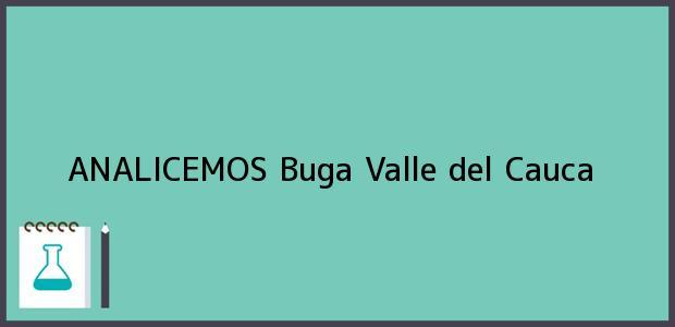 Teléfono, Dirección y otros datos de contacto para ANALICEMOS, Buga, Valle del Cauca, Colombia