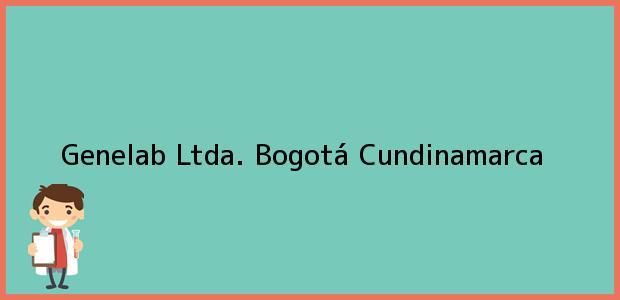 Teléfono, Dirección y otros datos de contacto para Genelab Ltda., Bogotá, Cundinamarca, Colombia