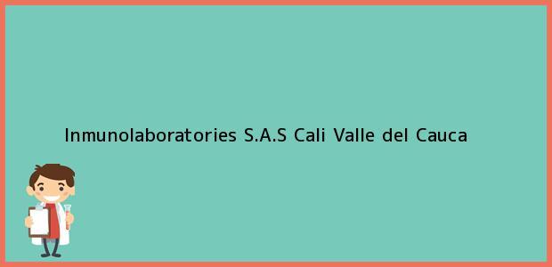 Teléfono, Dirección y otros datos de contacto para Inmunolaboratories S.A.S, Cali, Valle del Cauca, Colombia
