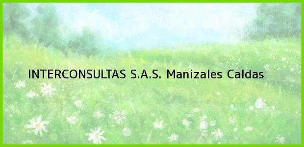 Teléfono, Dirección y otros datos de contacto para Interconsultas S.A.S, Manizales, Caldas, Colombia