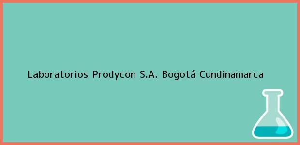 Teléfono, Dirección y otros datos de contacto para Laboratorios Prodycon S.A., Bogotá, Cundinamarca, Colombia