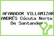 AFANADOR VILLAMIZAR ANDRÉS Cúcuta Norte De Santander